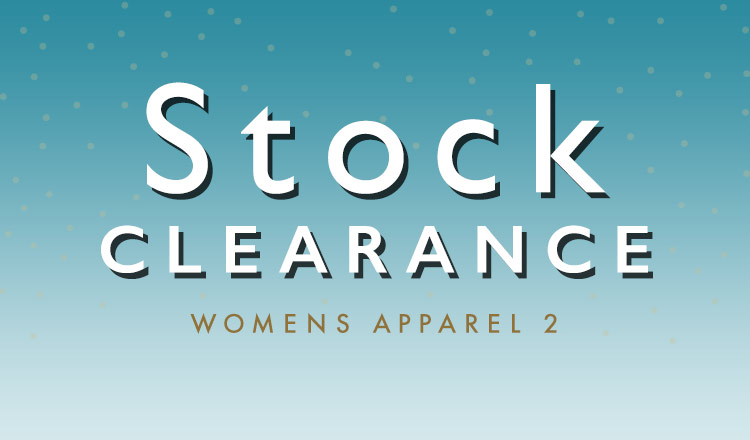 STOCK CLEARANCE WOMENS APPAREL 2