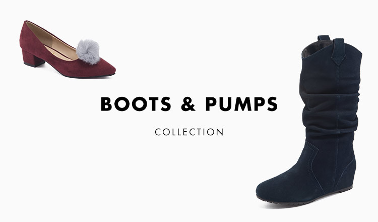 BOOTS & PUMPS COLLECTION