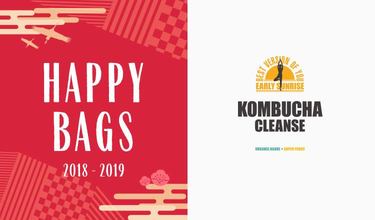 HAPPY BAG_燃焼系ダイエットドリンク KOMBUCHA CLEANSE