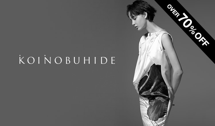 KOINOBUHIDE OVER70%OFF