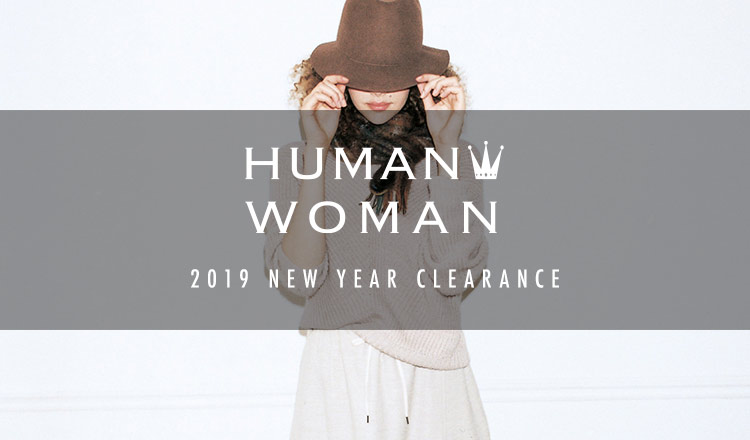 HUMAN WOMAN -2019 NEW YEAR CLEARANCE-