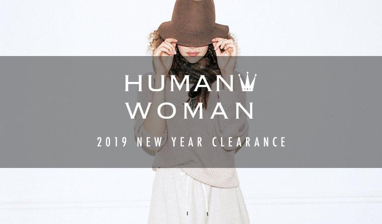 HUMAN WOMAN -2019 NEW YEAR CLEARANCE-
