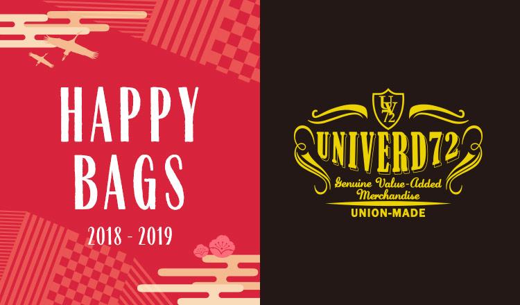 UNIVERD72&JOEY -HAPPY BAG-