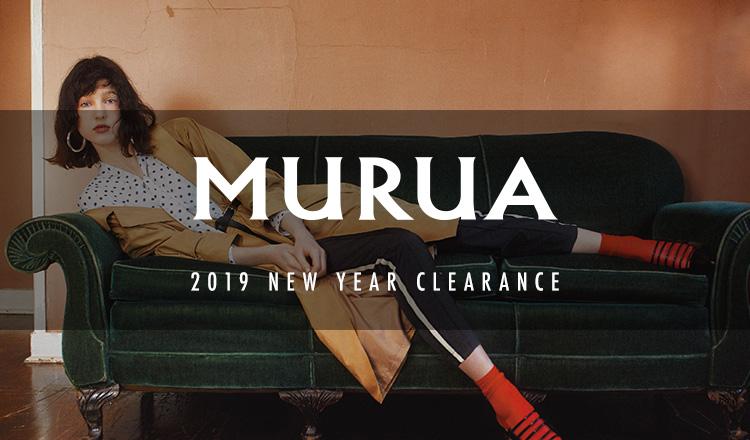 MURUA-2019 NEW YEAR CLEARANCE-