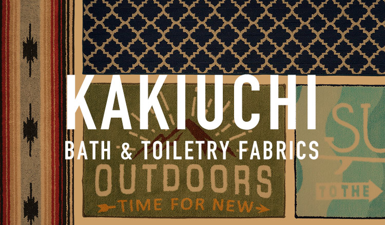 KAKIUCHI -BATH&TOILETRY FABRICS-