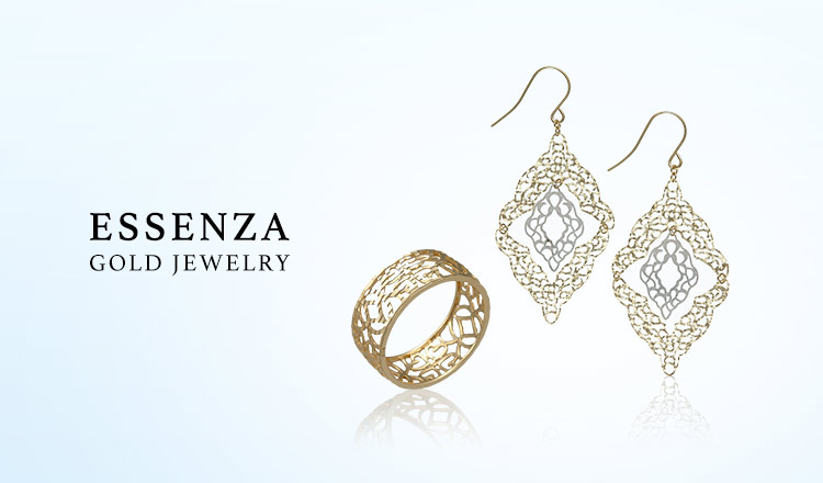 ESSENZA GOLD JEWELRY SELECTION