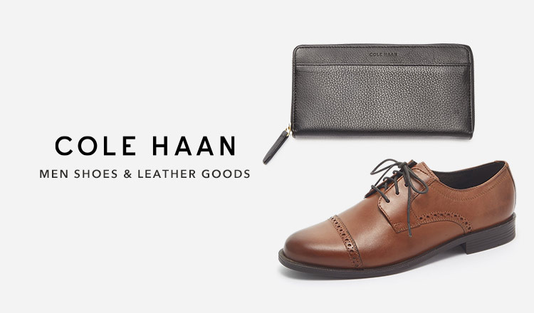 COLE HAAN -MEN SHOES & LEATHER GOODS-