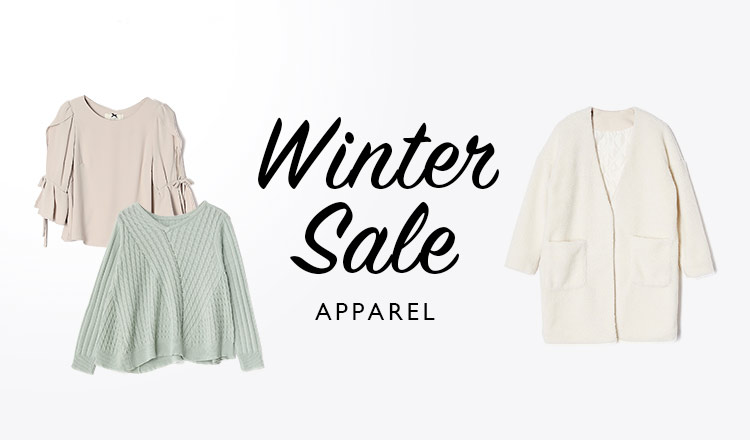 WINTER SALE  -APPAREL-