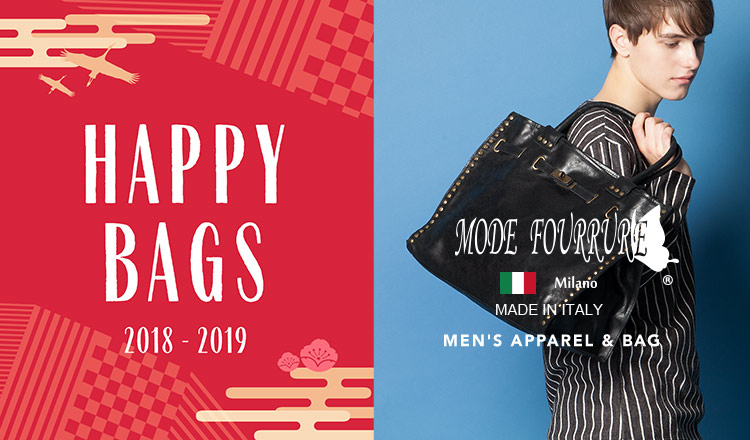 MEN'S MODE FOURRURE  HAPPY BAG