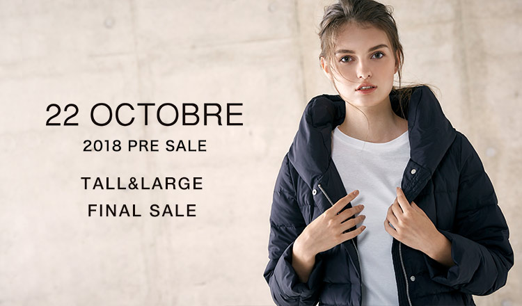 22 OCTOBRE TALL&LARGE -FINAL SALE-