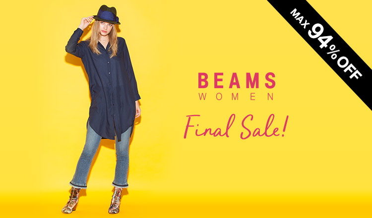 BEAMS WOMEN -FINAL SALE-