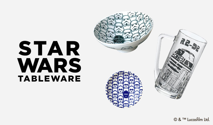 STAR WARS TABLEWARE