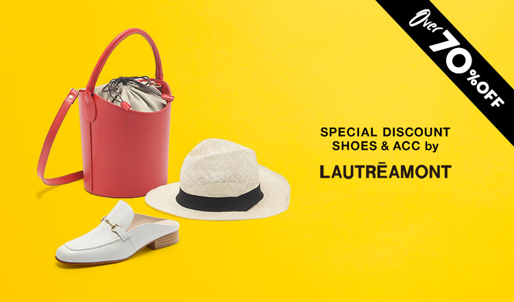 SPECIAL DISCOUNT SHOES & ACC by LAUTREAMONT