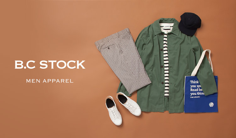 B.C STOCK MEN -APPAREL-