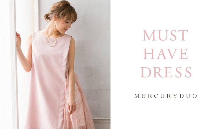 MERCURYDUO -MUST HAVE DRESS-