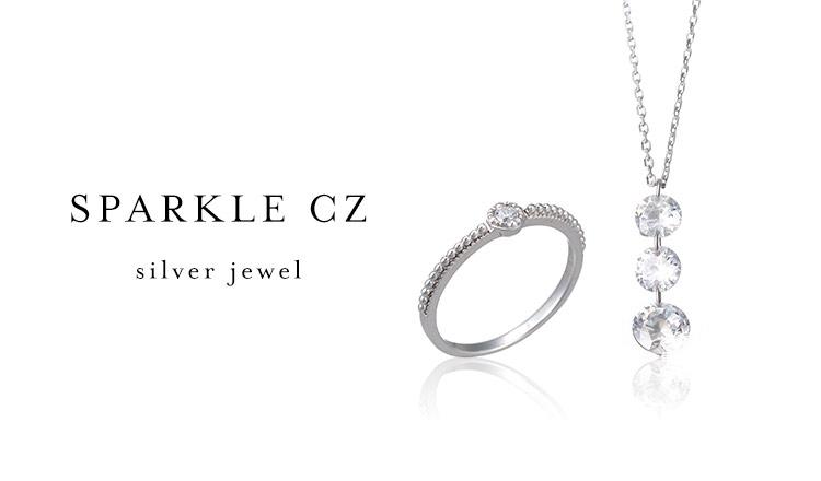 SPARKLE CZ -silver jewel-