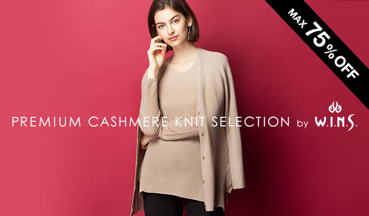 PREMIUM CASHIMERE KNIT SELECTION by W.I.N.S