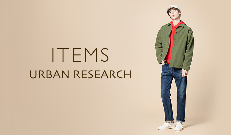 ITEMS URBANRESEARCH MEN