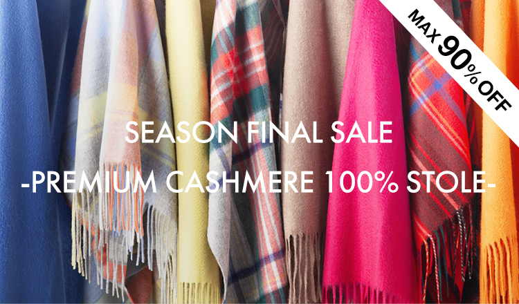 SEASON FINAL SALE  -PREMIUM CASHMERE 100% STOLE-