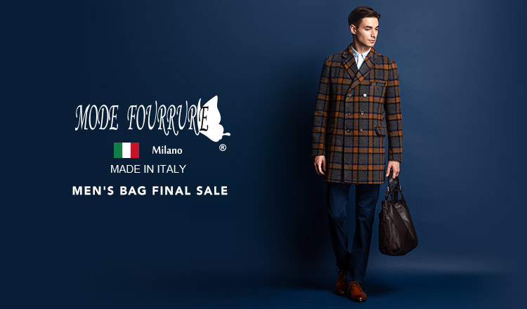 MEN'S MODE FOURRURE BAG FINAL SALE