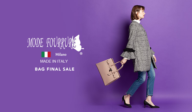 MODE FOURRURE BAG FINAL SALE