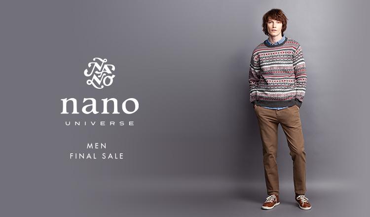 NANO・UNIVERSE MEN -FINAL SALE-