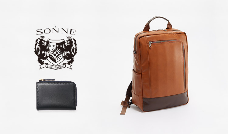 SONNE -MEN'S LEATHER GOODS SELECTION-