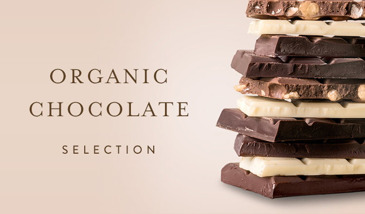 ORGANIC CHOCOLATE SELECTION