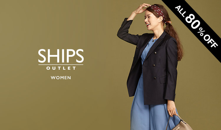 SHIPS OUTLET WOMEN -ALL80%OFF-