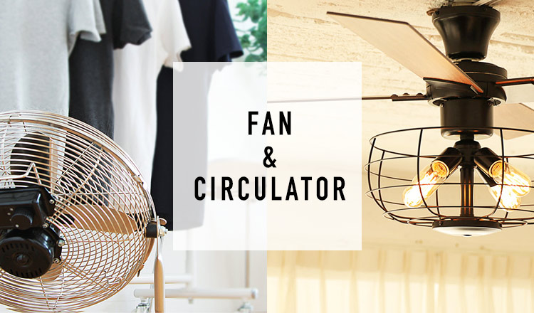 LIGHTING/CEILING FAN & FAN/CIRCULATOR