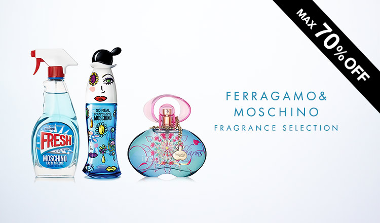 FERRAGAMO & MOSCHINO FRAGRANCE SELECTION