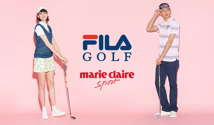 FILA GOLF/MARIE CLAIRE MEN WOMEN