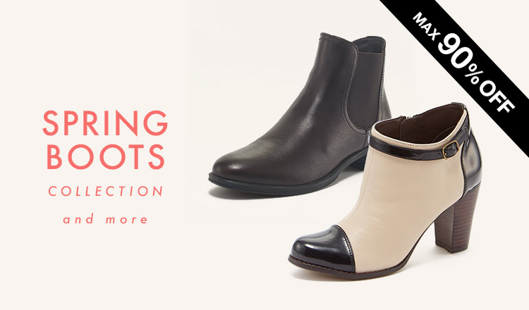 SPRING BOOTS COLLECTION and more
