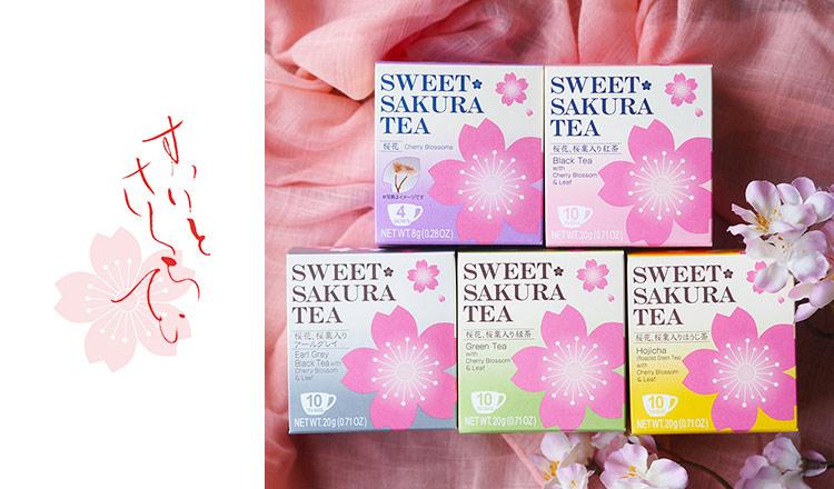 SAKURA TEA/SAKURA Latte