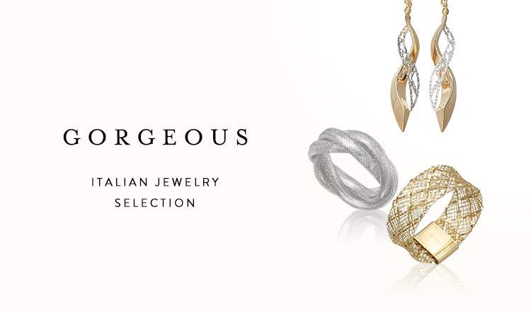 GORGEOUS -ITALIAN JEWELRY SELECTION-