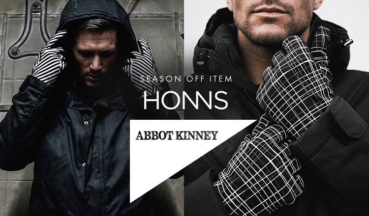 ABBOT KINNEY/HONNS -SEASON OFF ITEM-