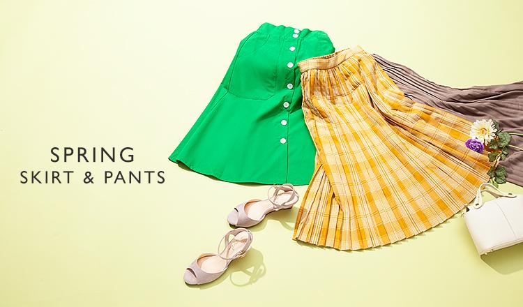 SPRING SKIRT & PANTS