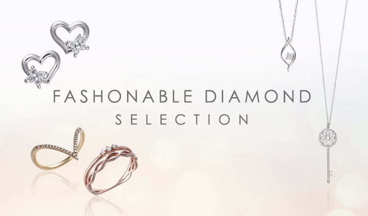 FASHONABLE DIAMOND SELECTION