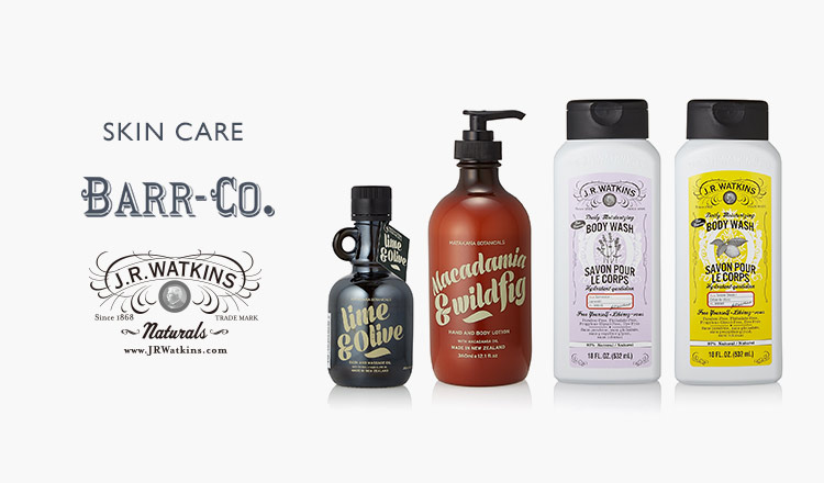 SKIN CARE BARR-CO. / J.R.Watkins