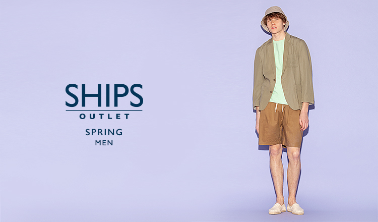SHIPS OUTLET MEN -SPRING-