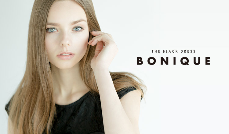 BONIQUE -THE BLACK DRESS-