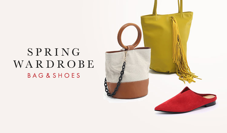 SPRING WARDROBE - BAG SHOES ACC -