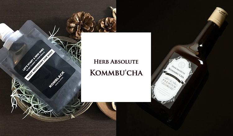 菌活酵素飲料 KOMMBUCHA(コンブチャ)-HERB ABSOLUTE-
