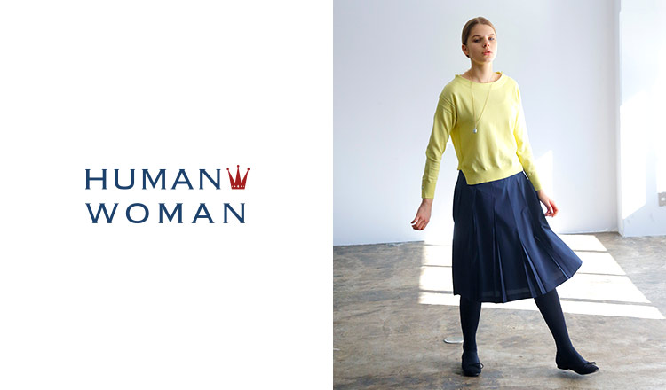 HUMAN WOMAN -GOLDEN WEEK SPECIAL SALE-