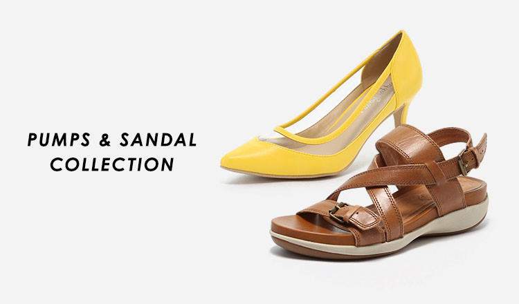 PUMPS & SANDAL COLLECTION