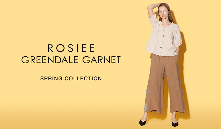 ROSIEE/GREENDALE GARNET -SPRING COLLECTION-