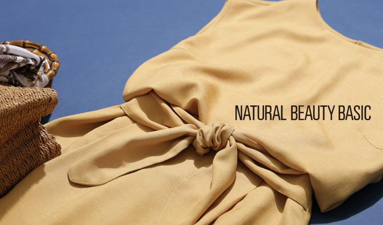 NATURAL BEAUTY BASIC -GOLDEN WEEK SPECIAL SALE-