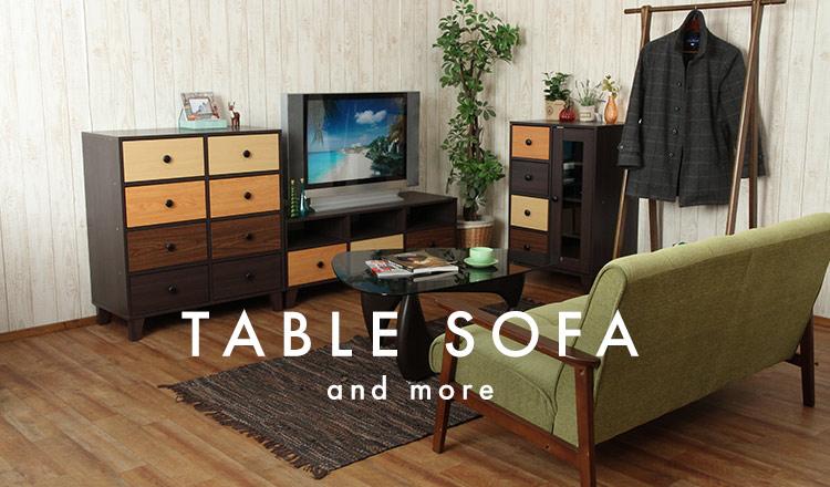 TABLE SOFA&more