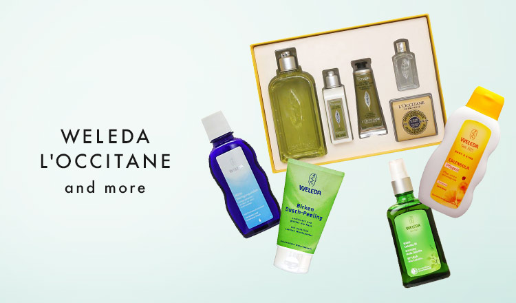 WELEDA/L'OCCITANE and more