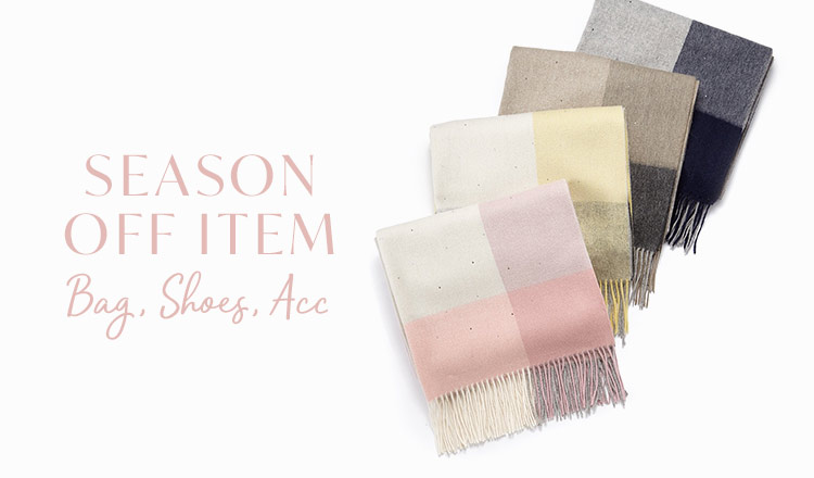 SEASON OFF ITEM-Bag & Shoes & Acc-